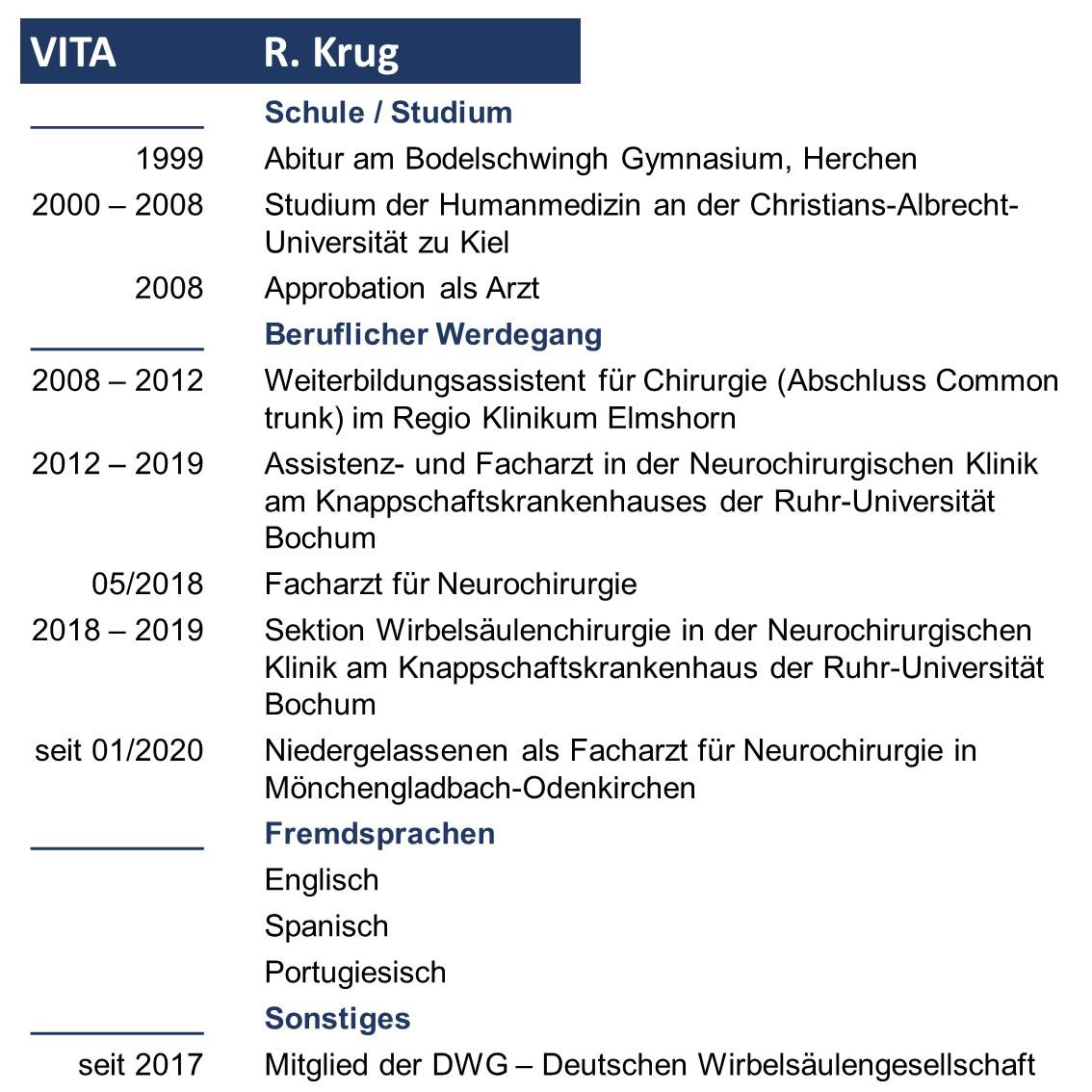 Vita Robin Krug